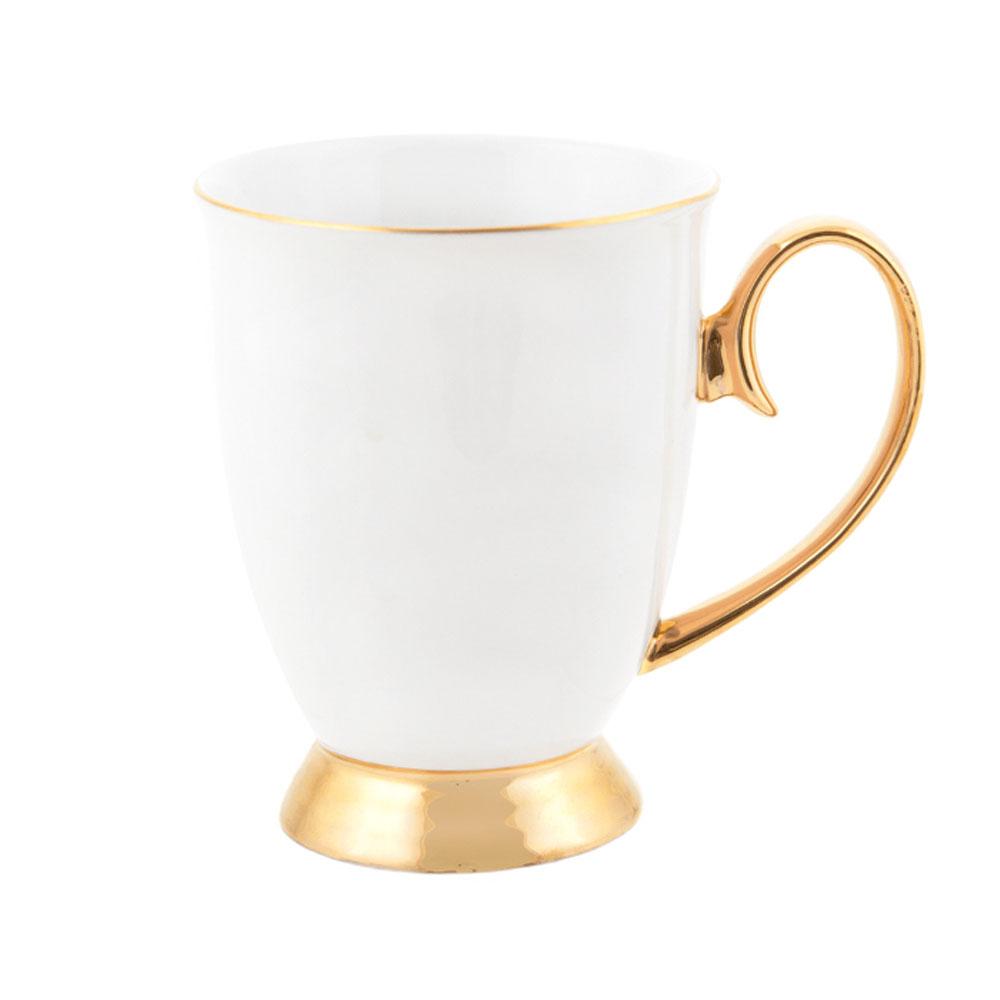 Cristina Re Signature High Tea Collection Mug Ivory White