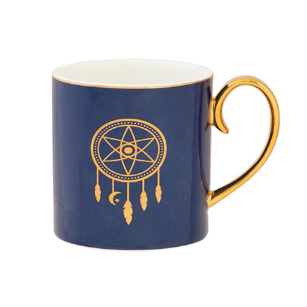Cristina Re Dreamcatcher Mug Navy & Gold