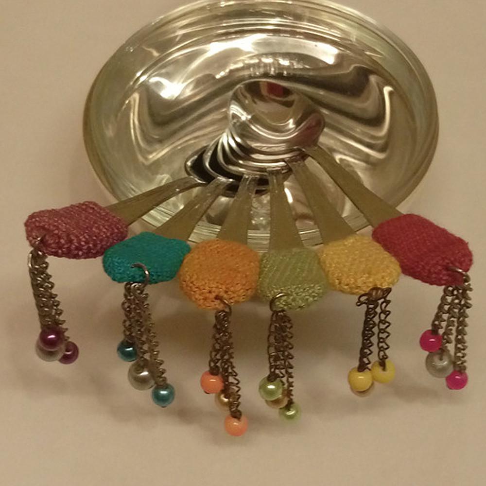 Mounaya Spoon Crochet Cover Colored