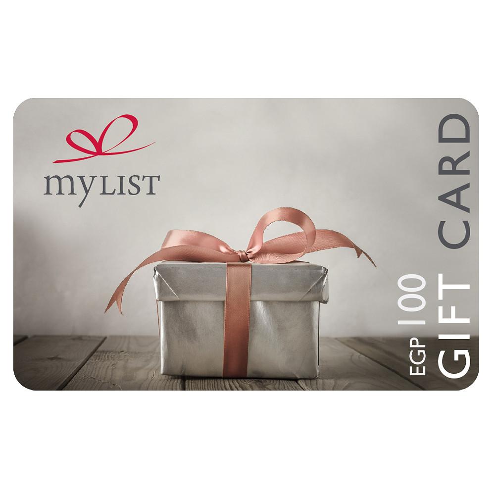 MyList E Gift Card EGP 100