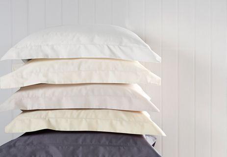 Sateen 400 Thread Count Emperor Pillow Case  Gold Set of 2
