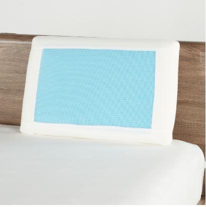 Comfort Cool Gel Pillow 70x45x12cm White