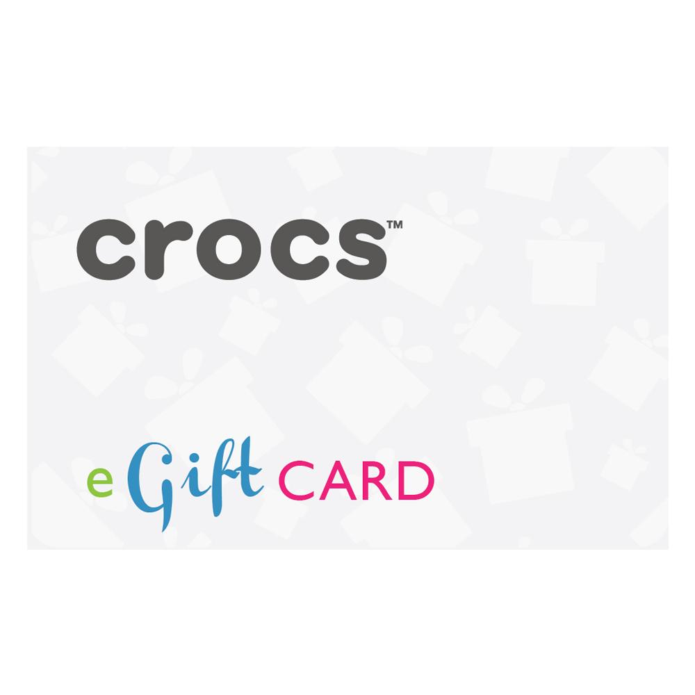 Crocs E-Gift Card EGP 1600