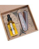 Captain Fawcett Beard Oil And Comb Gift Set