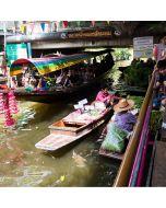 Half Day Floating Market and Meklong Market Tour