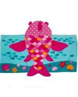 Fish Hooded Towel