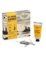 Gentlemen's Hardware In Good Hands Kit Black and White