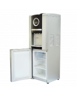 Sure Top Loading Water Dispenser With Refrigerator And Freezer, Silver - G10 - SUREG10