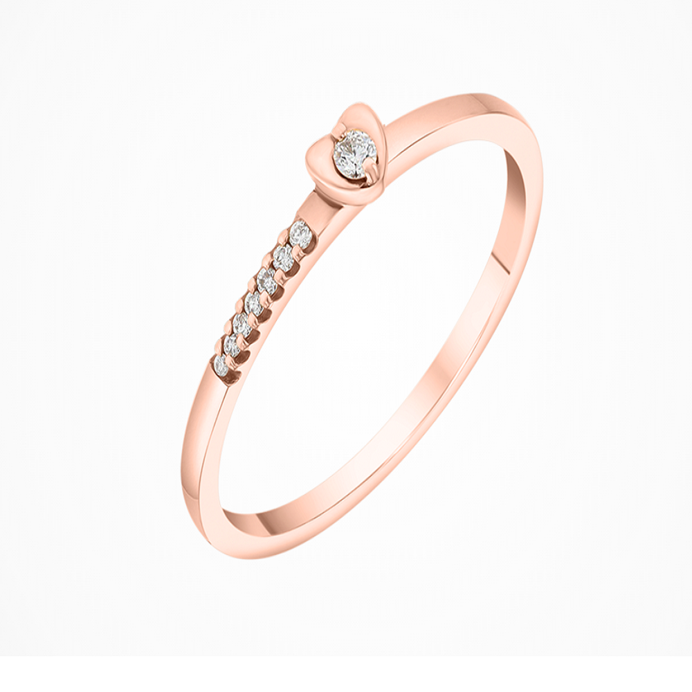 Stackable 18K Ring