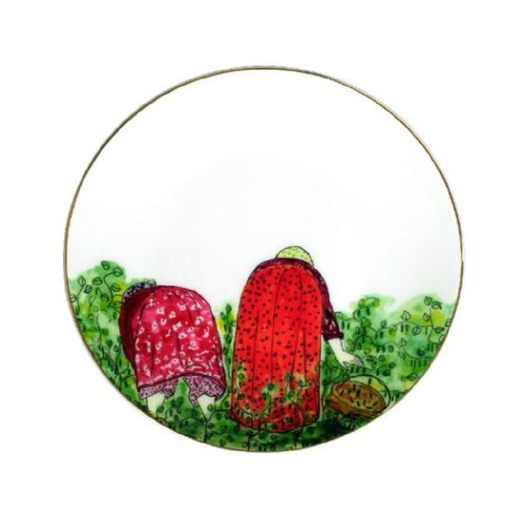 Zarina Cuillette Dessert Plates - Set of 6