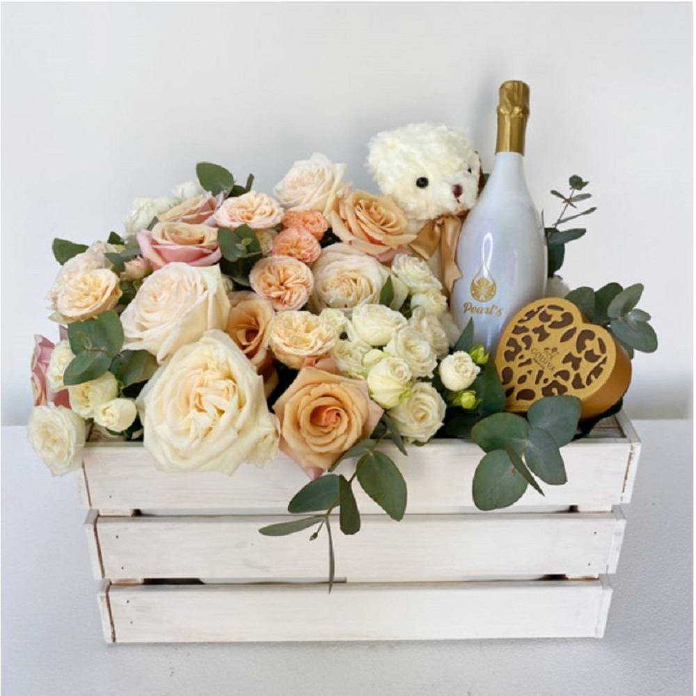 Fleurs de jardin Box