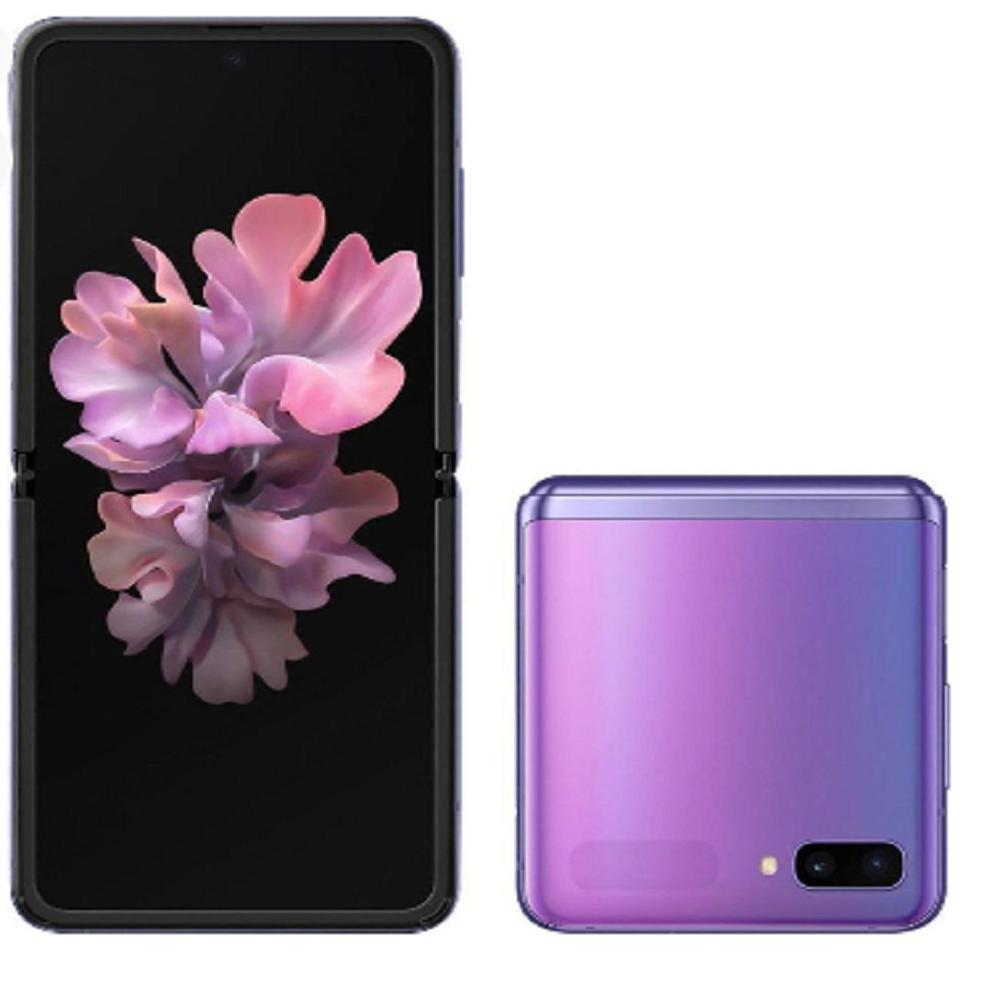 Samsung Galaxy Z Flip Dual SIM, 256GB, 4G LTE - Purple