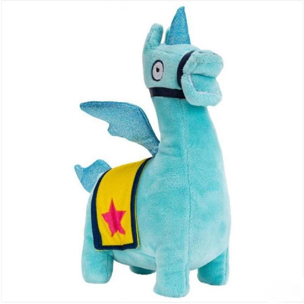 Fortnite Llama Loot Plush Rainbow Unicorn