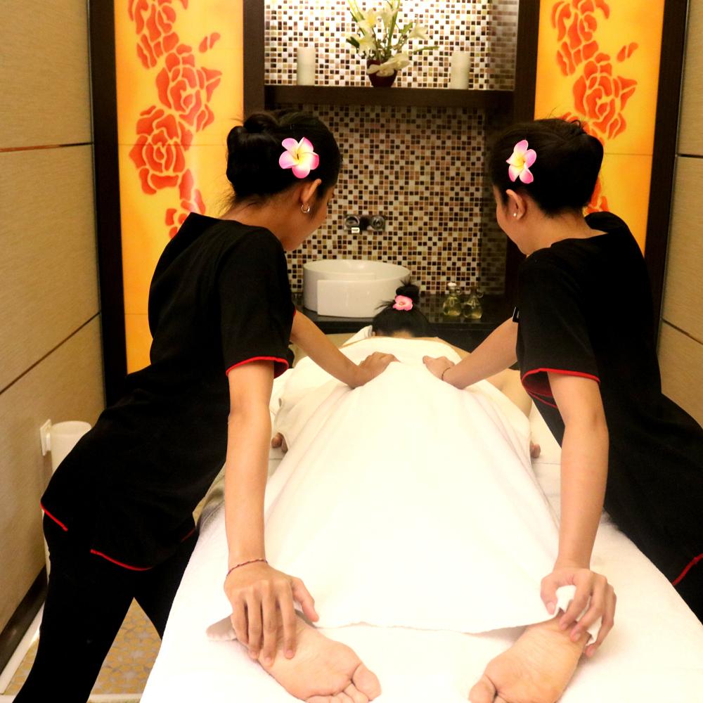 4 Hand Massage - 60mins