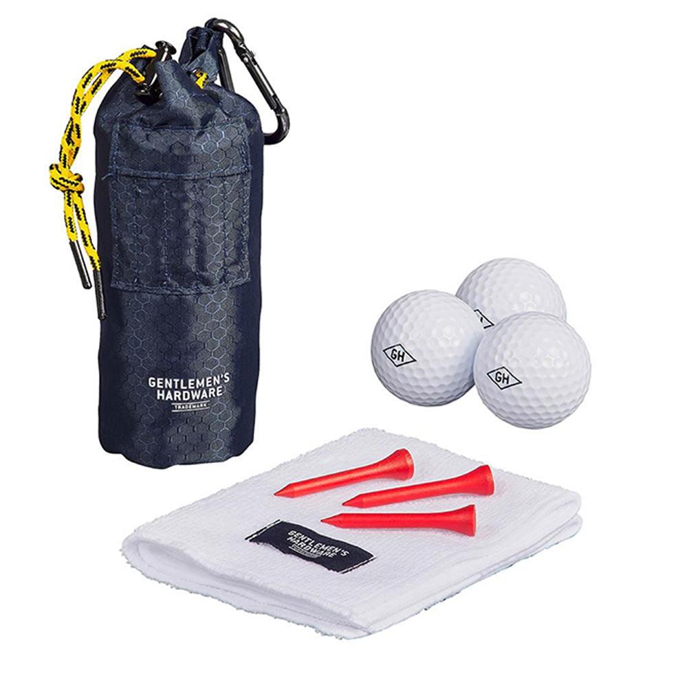 Gentlemen's Hardware Golfer's Accessory Set Blue