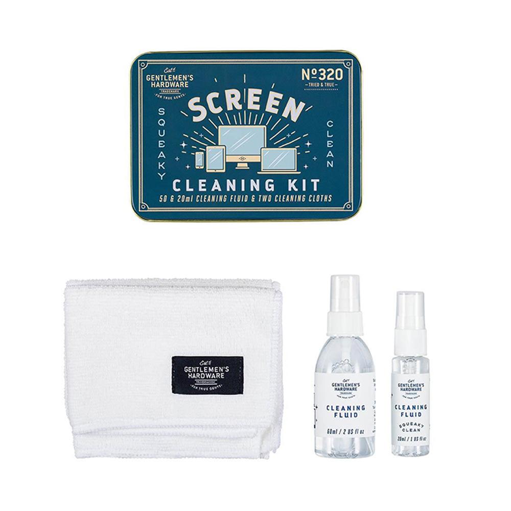 Gentlemen's Hardware Screen Cleaning Kit Blue