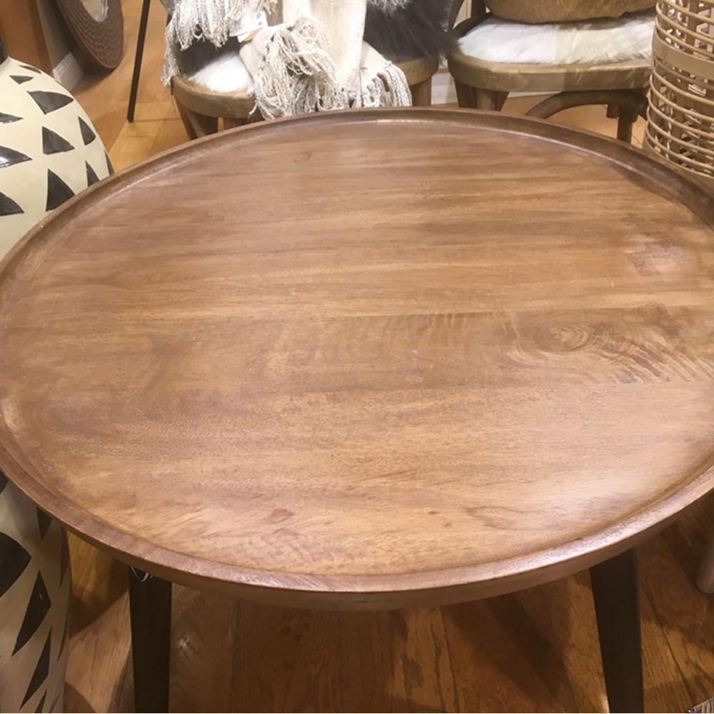 Round Side Table Vintage