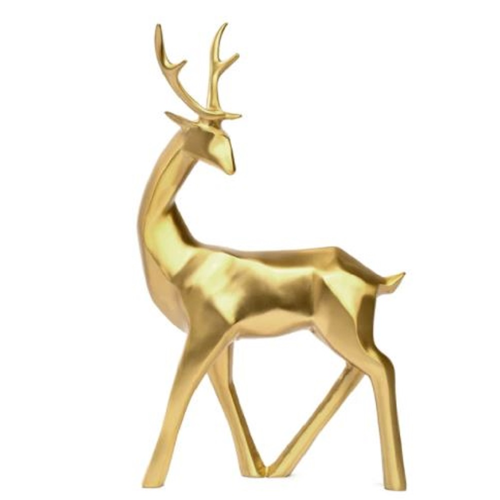 Darton Butterfield Golden Stag Sculpture