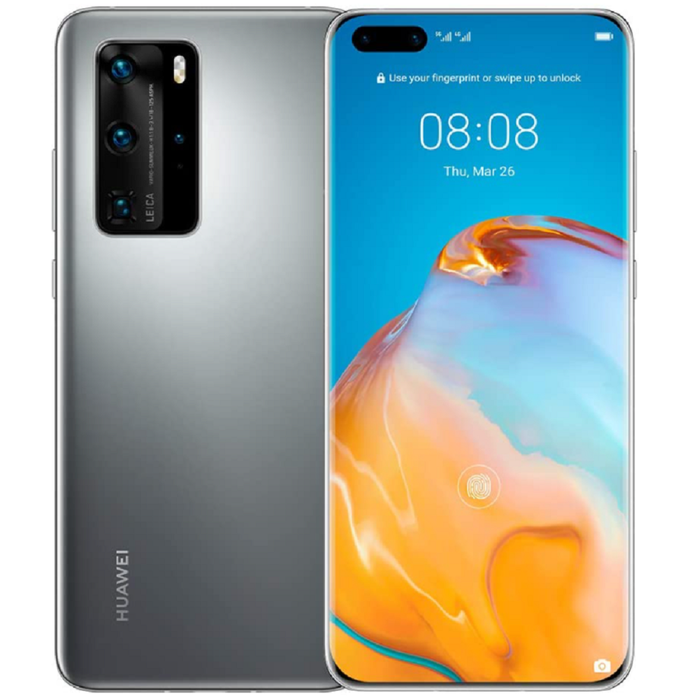 Huawei Smartphone P40 Pro 256 GB Silver Frost