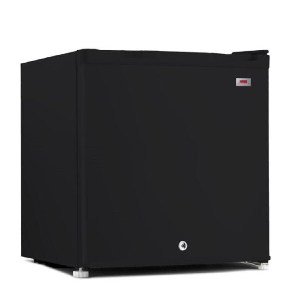 ثلاجة هام باب واحد اسود 1.6 قدم HM72BRF-G20