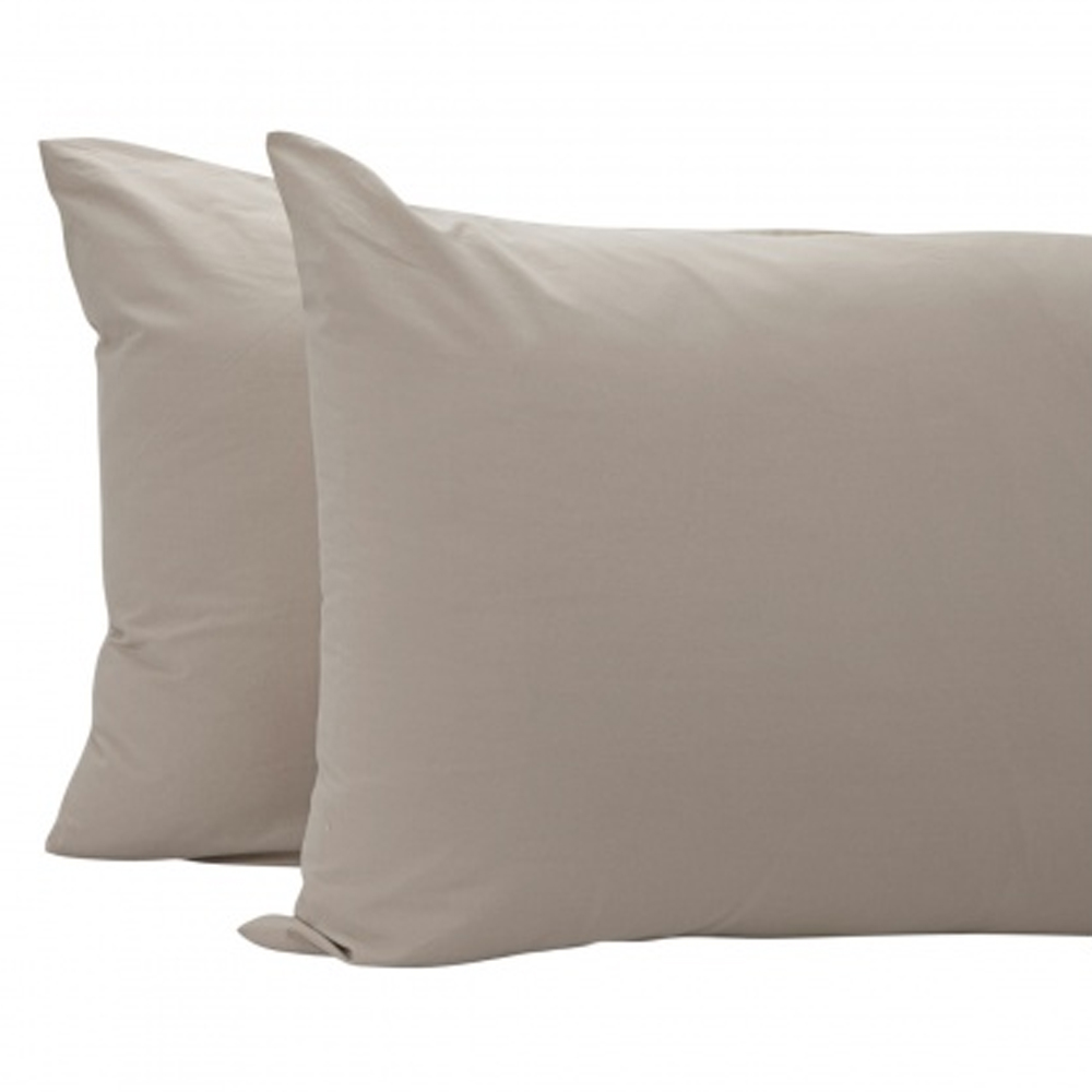 Eternity 2-piece Pillow Cover - 50x75cm Brown