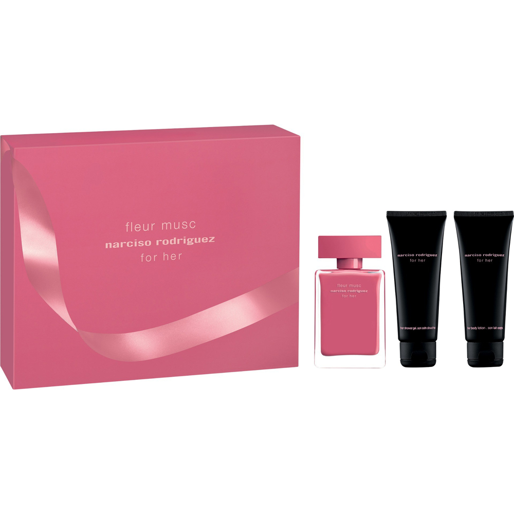 Narciso  Rodriguez Fleur Musc For Her Perfume Gift Set