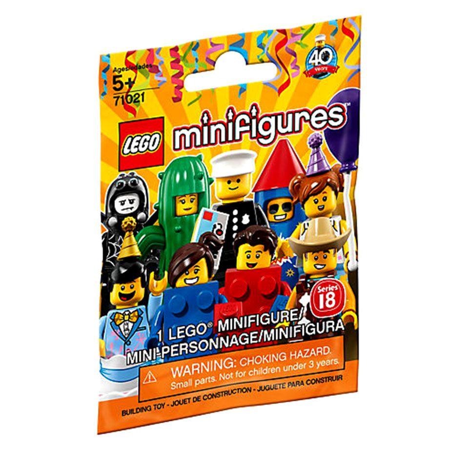 Minifigures Series 18