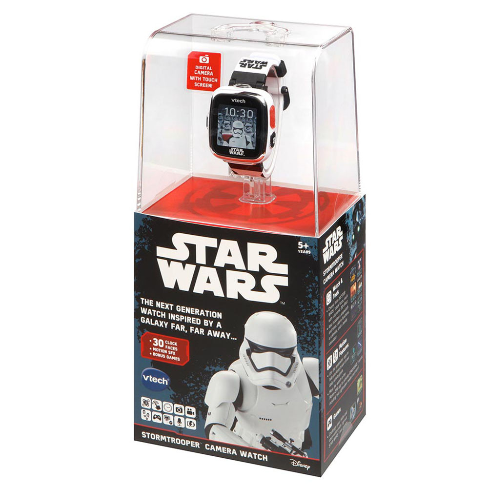 Star Wars Stormtrooper Camera Watch - White