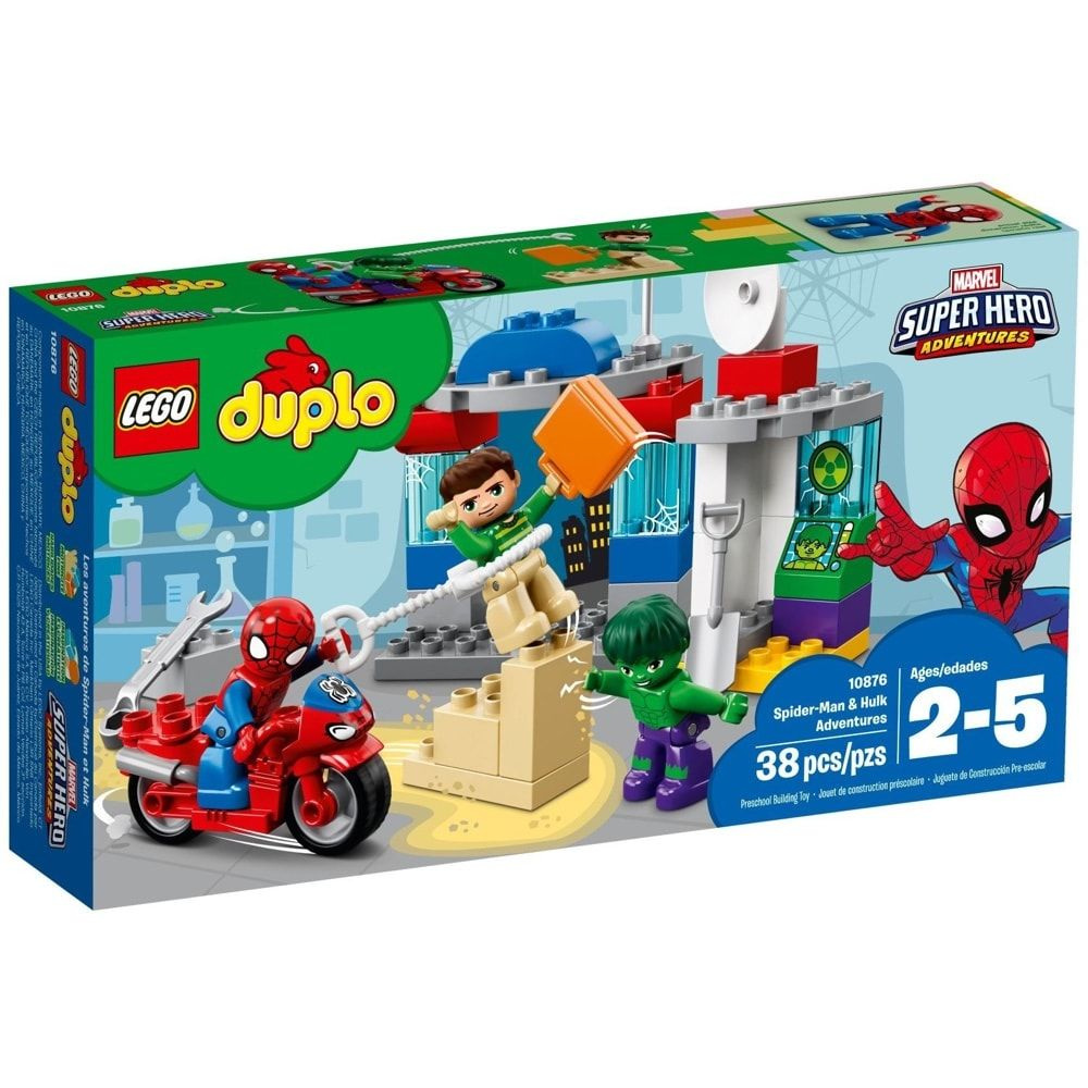 Duplo Spider-Man & Hulk Adventures (38 Pieces)