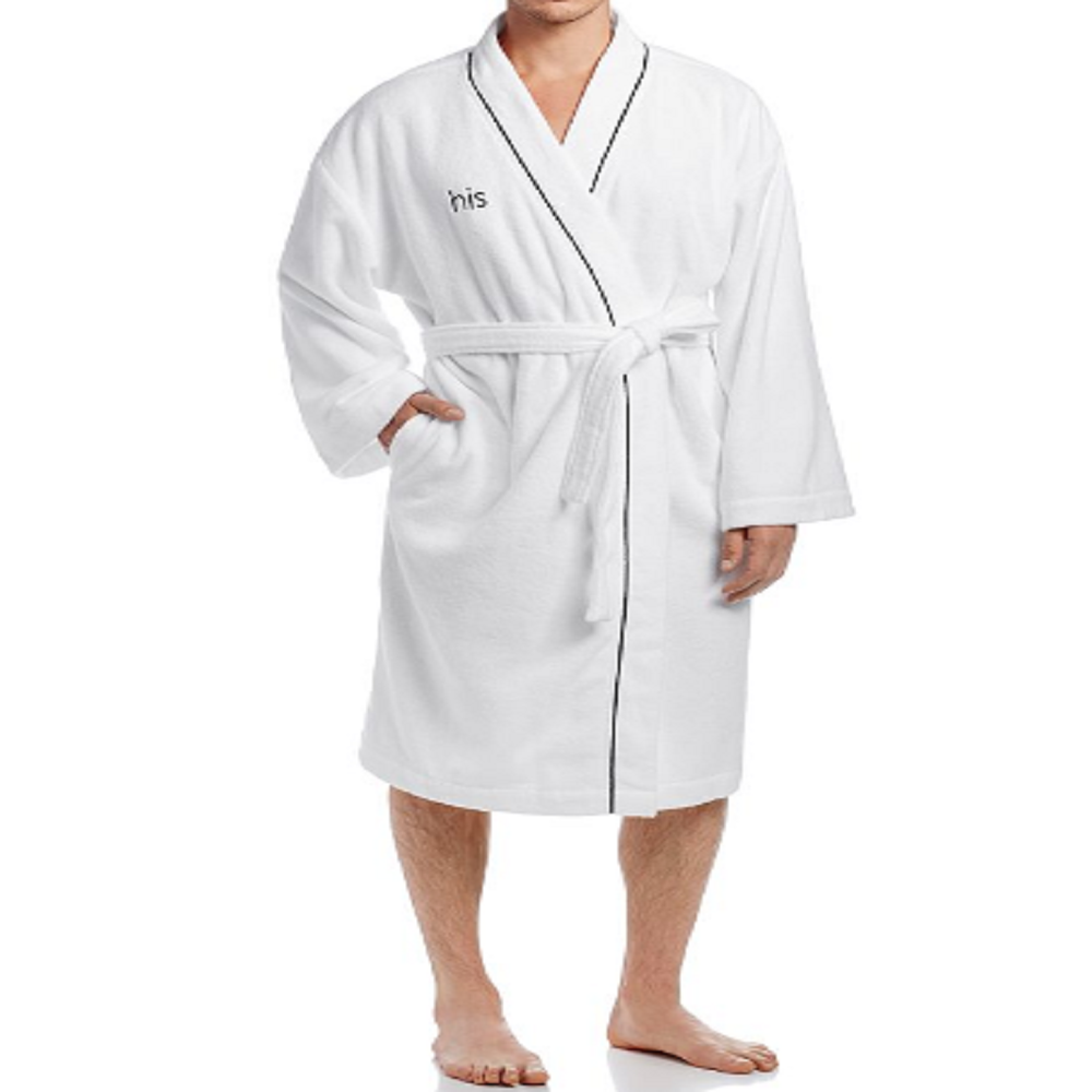 Hudson Park Collection His  Bath Robe - 100% Exclusive