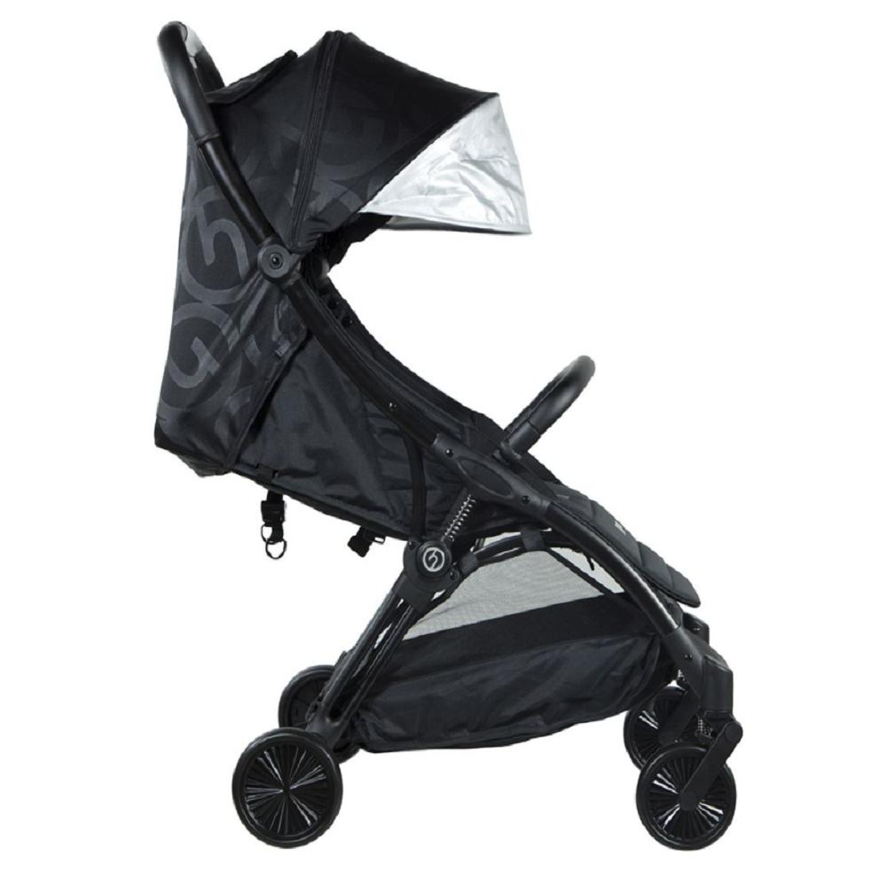 Hybrid Ezyfold Stroller Black Chassis - Jet Black