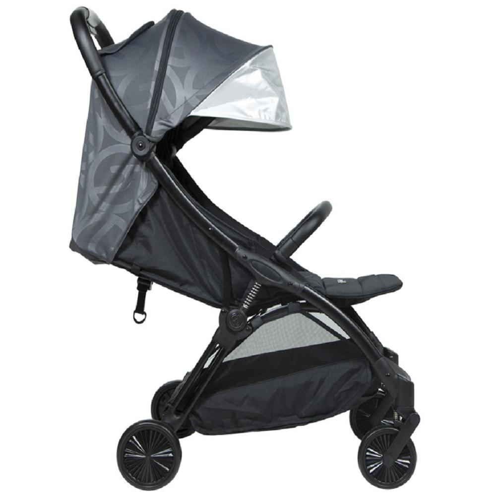 Hybrid Ezyfold Stroller Black Chassis - Grey
