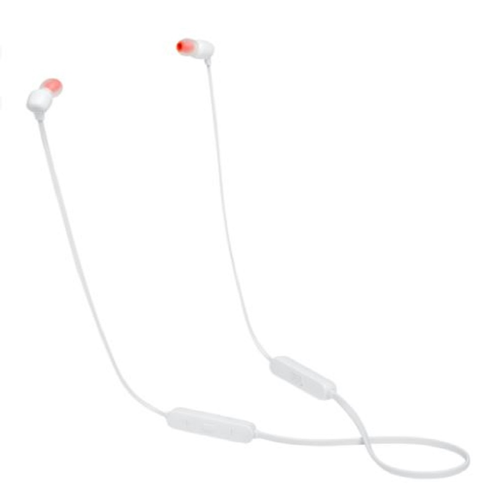 JBL TUNE 115BT Wireless Earphones With Microphone - White