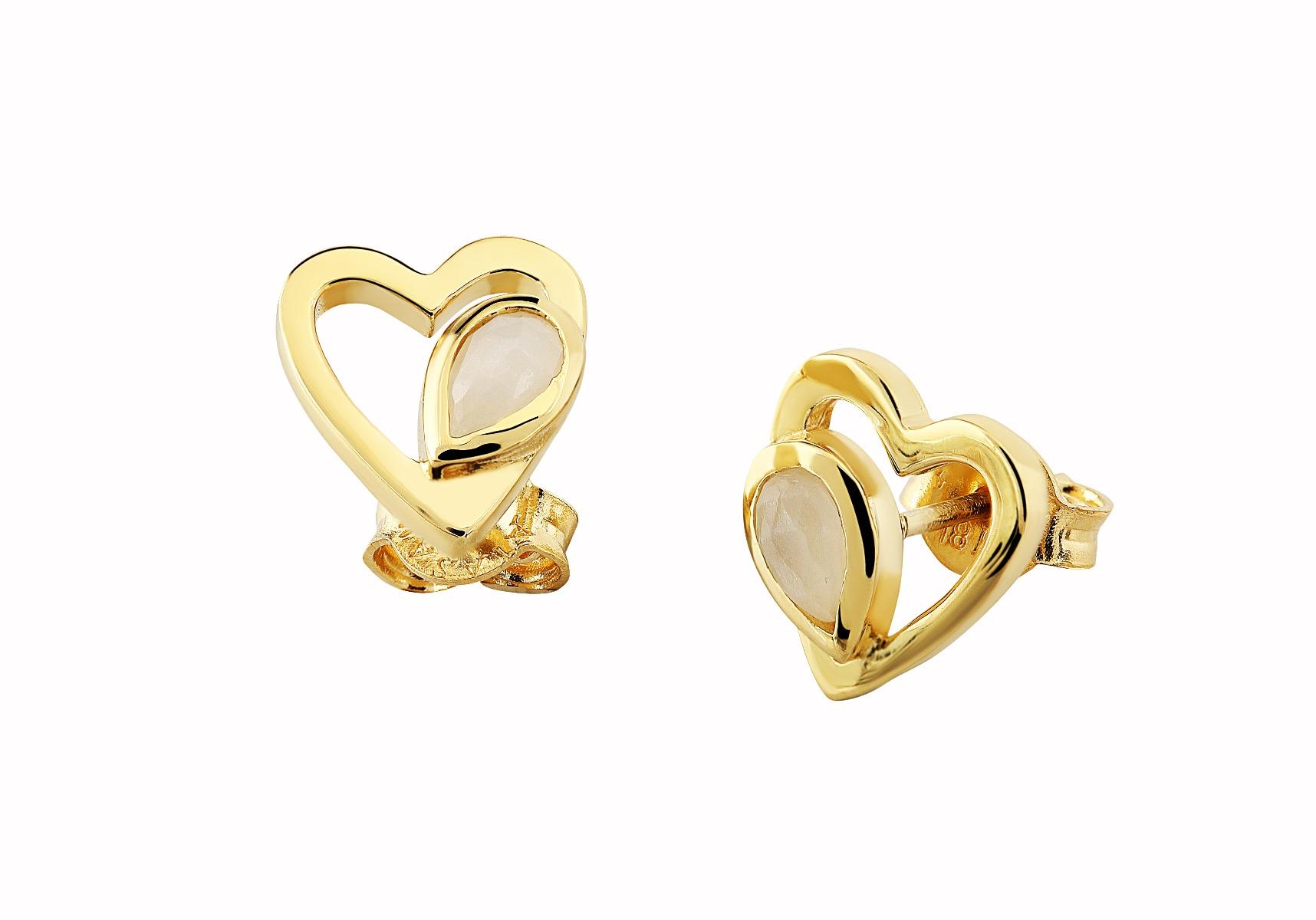 Jou Earrings with Natural Gemstones