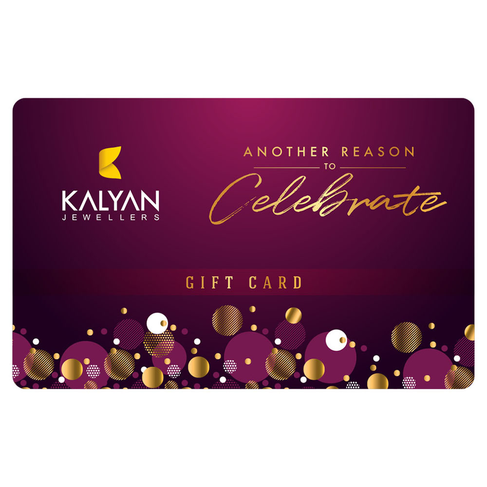 Kalyan Jewellers Gold & Diamond Jewellery E- Gift Card 300AED