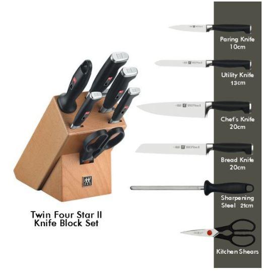 سكين ستيك برو 4 قطع Zwilling J.A. Henckels