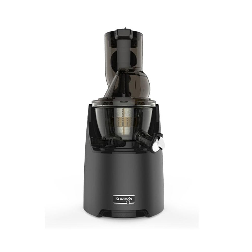 عصارة منخفضة السرعة للفاكهة الكاملة والخضار EVO820 لون أسود مطفأ اللمعة، كوفينغز