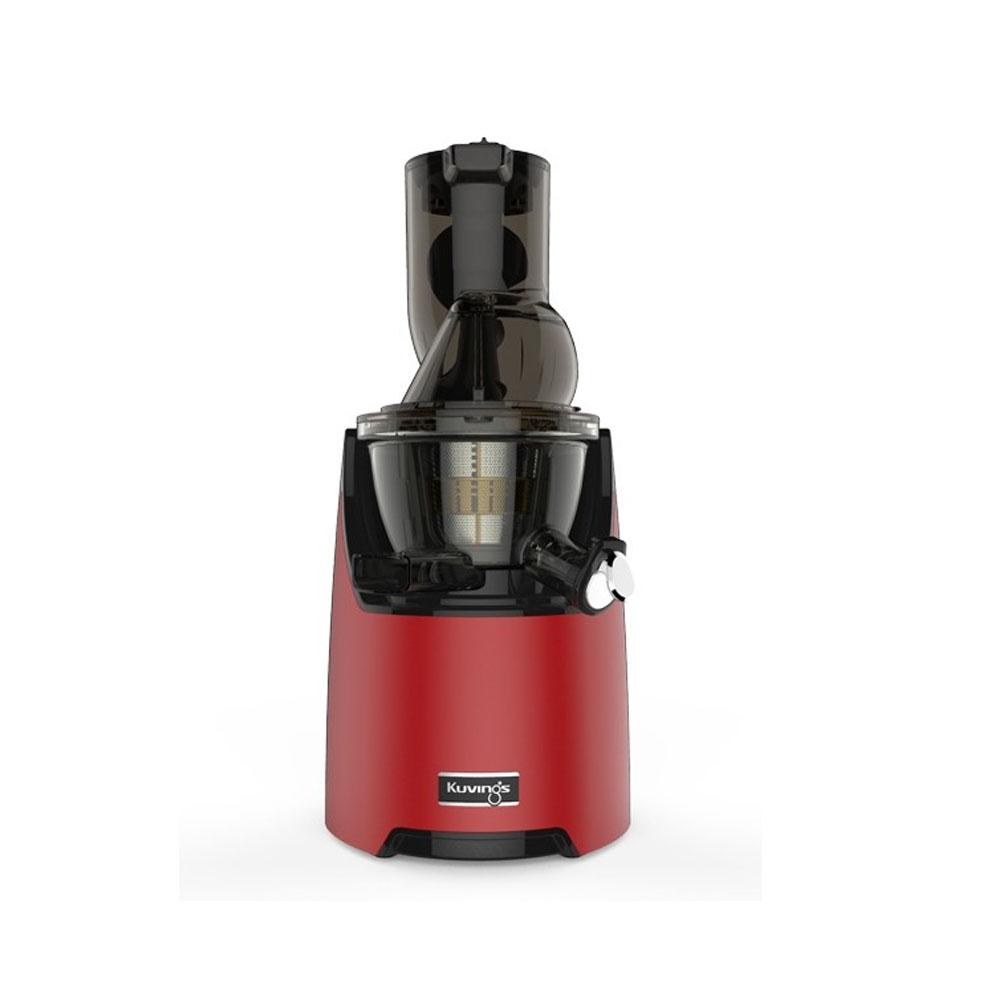عصارة منخفضة السرعة للفاكهة الكاملة والخضار EVO820، لون أحمر مطفأ اللمعة، كوفينغز