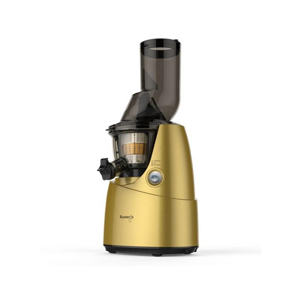 عصارة منخفضة السرعة للفاكهة الكاملة والخضار B6000، لون ذهبي، كوفينغز