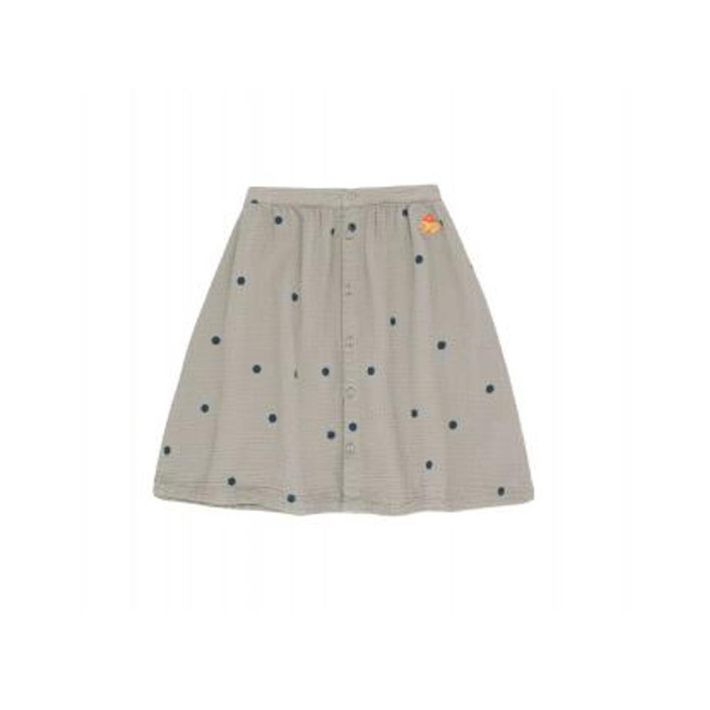 Dots Luckyphant Midi Skirt grey/true navy