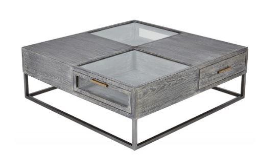 Marley Coffee Table - 100*100*35cms