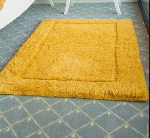 Reversible Bath Mat Gold