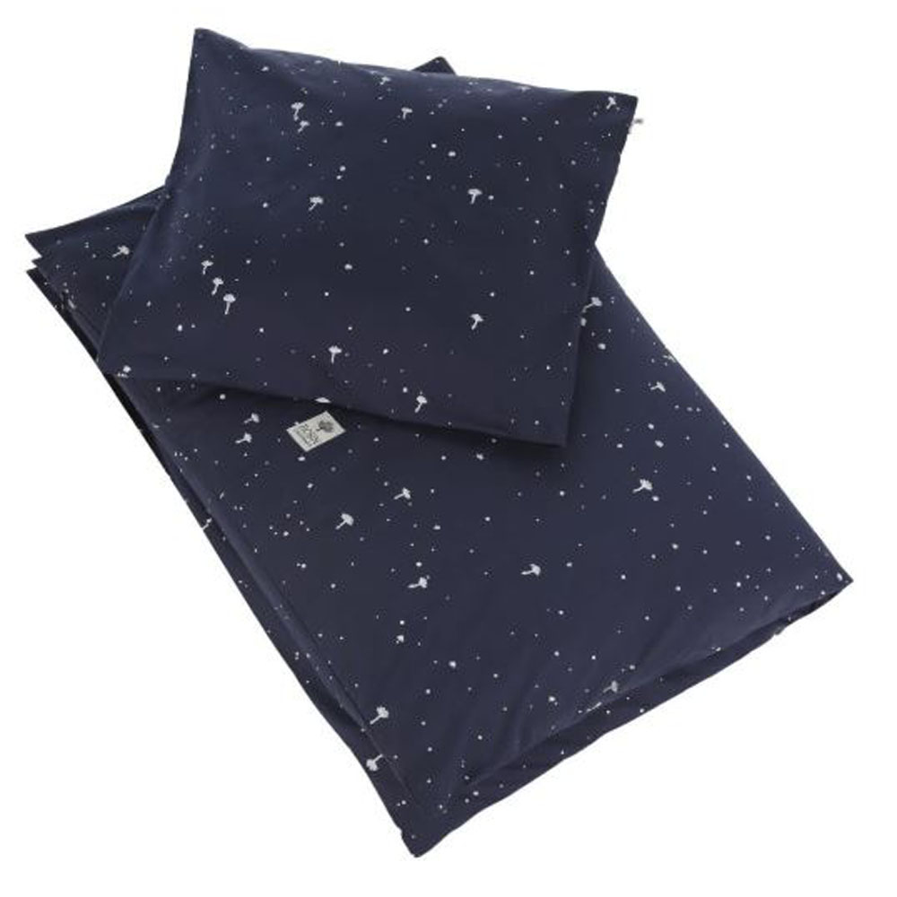 Luxurious Organic Cotton Baby Bedding Night Sky