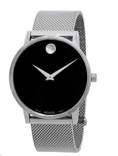 Museum Classic Black Dial Men's Watch