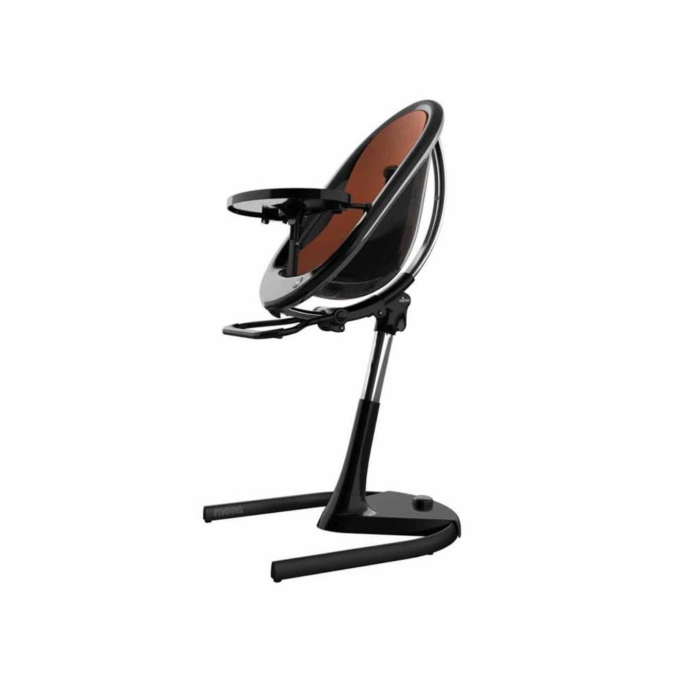 كرسي عال 2G مجموعة كاملة من ميما مون، وسادة مقعد أسود + لون جملي