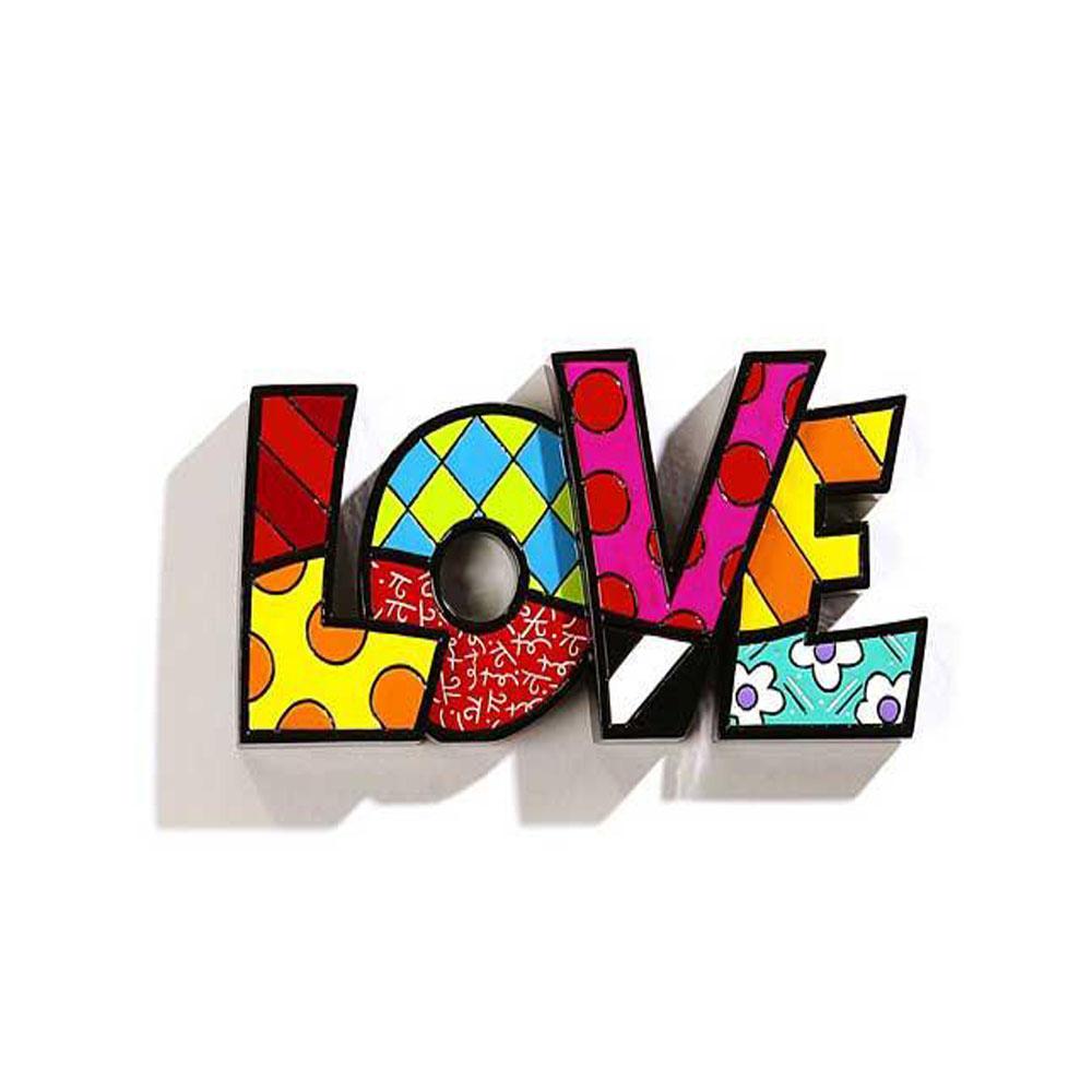 Romero Britto Mini Word Love