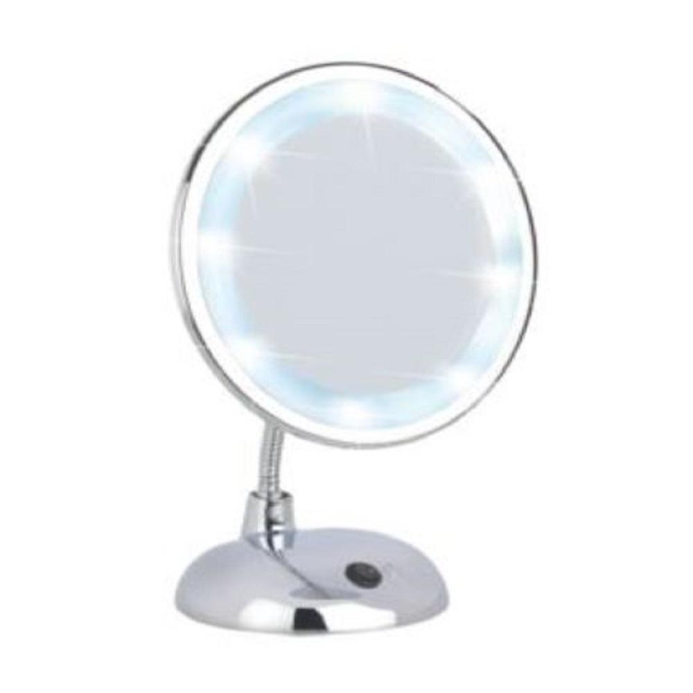 مرآة ليد شكل قائم كروم وينكو.