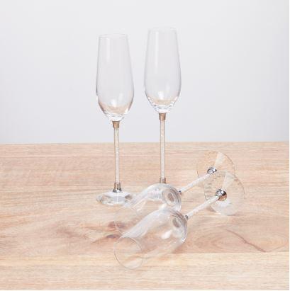 Moundou Flute Glass  Set of 4  235ml