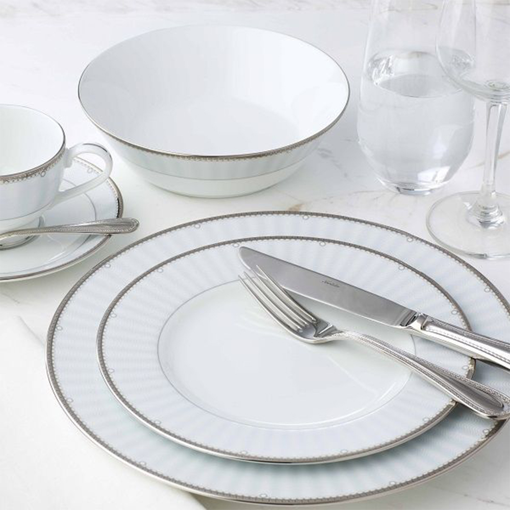 Noritake Monarch Platinum Dinner, 33 Piece Set