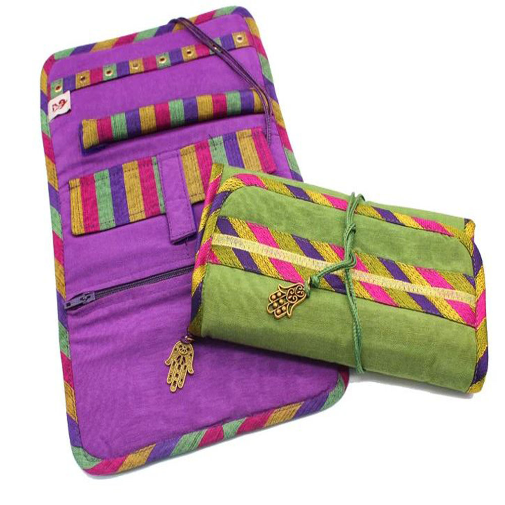Jewellery Pouch Colourful